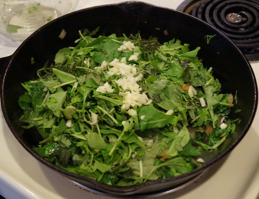 Mesclun Stage One with Garlic