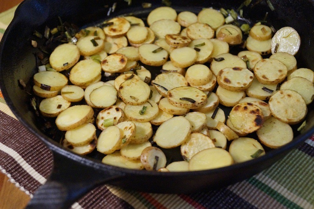 Potatoes in Skillet