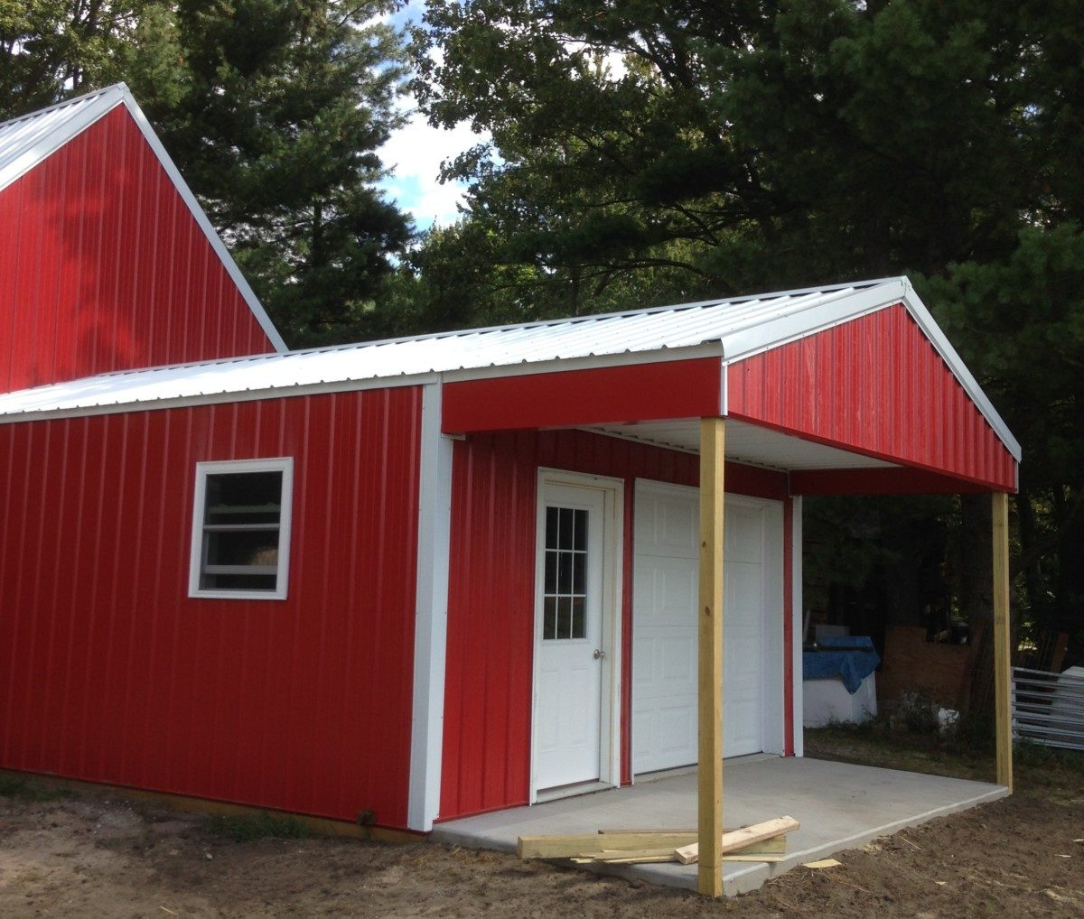 New Red Barn