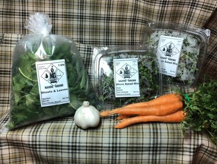 Kajer Greens Produce Combo for April 11