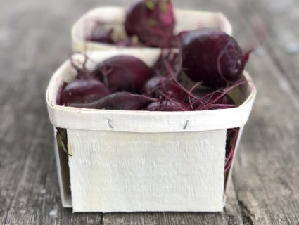 beets in quart