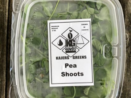 peas microgreens