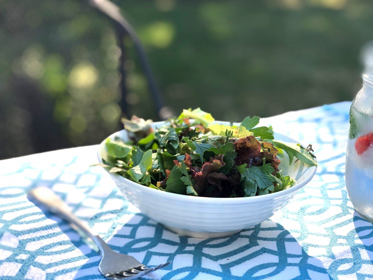 Perfect Herby Salad from Allison Roman
