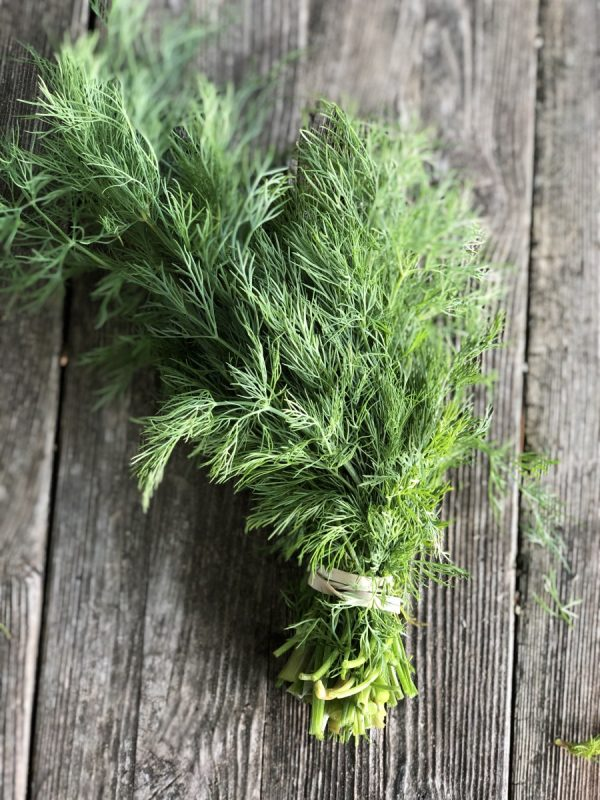 dill in farm stand