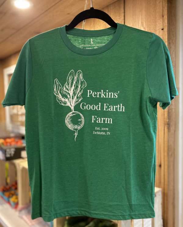 Youth farm shirt green