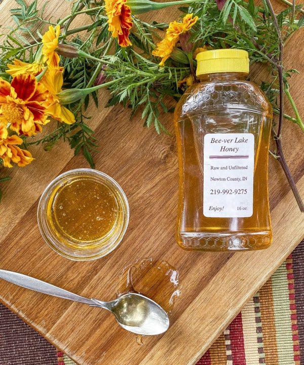 16 oz honey bottle