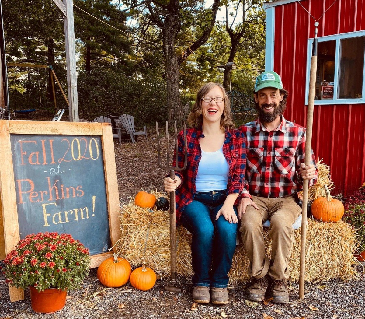 Dan and Julie Fall 2020