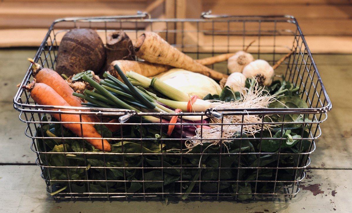 winter veggies for winter vegetable broth