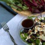 beet goat cheese salad