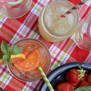 lemonade in the farm stand june 2021