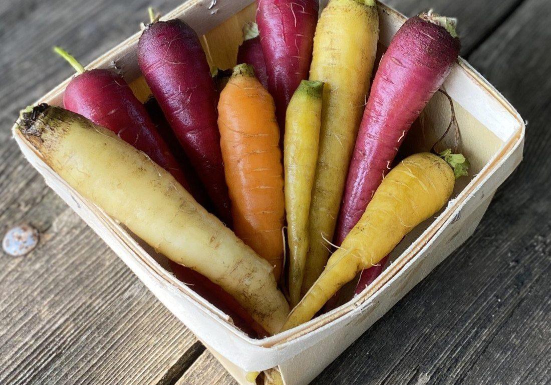 starburst carrots